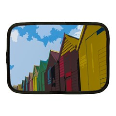 Brightly Colored Dressing Huts Netbook Case (Medium)