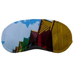 Brightly Colored Dressing Huts Sleeping Masks