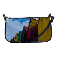 Brightly Colored Dressing Huts Shoulder Clutch Bags