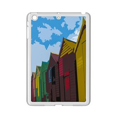 Brightly Colored Dressing Huts Ipad Mini 2 Enamel Coated Cases