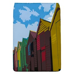 Brightly Colored Dressing Huts Flap Covers (s)