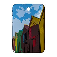 Brightly Colored Dressing Huts Samsung Galaxy Note 8 0 N5100 Hardshell Case