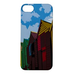 Brightly Colored Dressing Huts Apple iPhone 5S/ SE Hardshell Case