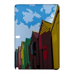 Brightly Colored Dressing Huts Samsung Galaxy Tab Pro 10 1 Hardshell Case