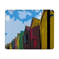 Brightly Colored Dressing Huts Samsung Galaxy Tab Pro 8 4  Flip Case