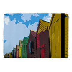 Brightly Colored Dressing Huts Samsung Galaxy Tab Pro 10 1  Flip Case
