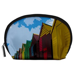 Brightly Colored Dressing Huts Accessory Pouches (Large)