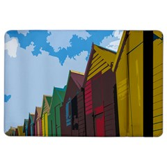 Brightly Colored Dressing Huts iPad Air 2 Flip