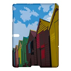 Brightly Colored Dressing Huts Samsung Galaxy Tab S (10 5 ) Hardshell Case