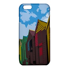 Brightly Colored Dressing Huts iPhone 6/6S TPU Case