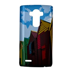 Brightly Colored Dressing Huts LG G4 Hardshell Case