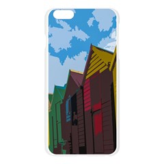 Brightly Colored Dressing Huts Apple Seamless iPhone 6 Plus/6S Plus Case (Transparent)