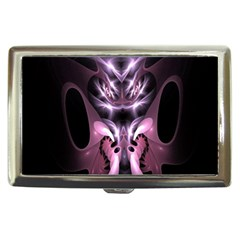 Angry Mantis Fractal In Shades Of Purple Cigarette Money Cases