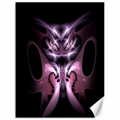 Angry Mantis Fractal In Shades Of Purple Canvas 18  X 24