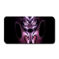 Angry Mantis Fractal In Shades Of Purple Medium Bar Mats