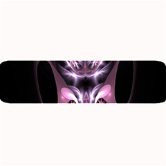 Angry Mantis Fractal In Shades Of Purple Large Bar Mats