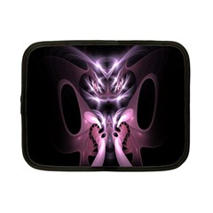 Angry Mantis Fractal In Shades Of Purple Netbook Case (small)