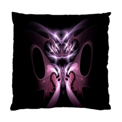 Angry Mantis Fractal In Shades Of Purple Standard Cushion Case (Two Sides)
