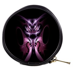 Angry Mantis Fractal In Shades Of Purple Mini Makeup Bags
