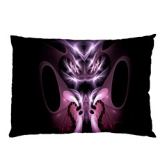Angry Mantis Fractal In Shades Of Purple Pillow Case (two Sides)
