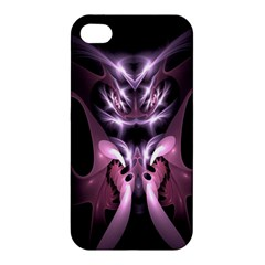 Angry Mantis Fractal In Shades Of Purple Apple iPhone 4/4S Hardshell Case