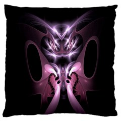 Angry Mantis Fractal In Shades Of Purple Large Cushion Case (One Side)