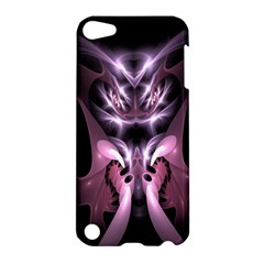 Angry Mantis Fractal In Shades Of Purple Apple iPod Touch 5 Hardshell Case