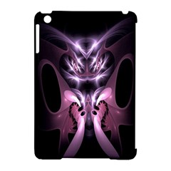 Angry Mantis Fractal In Shades Of Purple Apple Ipad Mini Hardshell Case (compatible With Smart Cover)