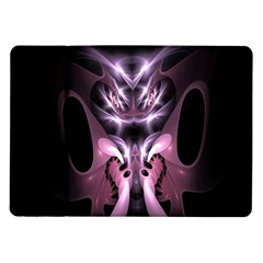 Angry Mantis Fractal In Shades Of Purple Samsung Galaxy Tab 10 1  P7500 Flip Case