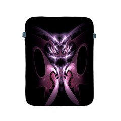Angry Mantis Fractal In Shades Of Purple Apple Ipad 2/3/4 Protective Soft Cases