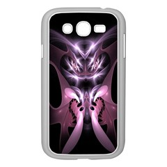 Angry Mantis Fractal In Shades Of Purple Samsung Galaxy Grand Duos I9082 Case (white)