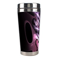 Angry Mantis Fractal In Shades Of Purple Stainless Steel Travel Tumblers