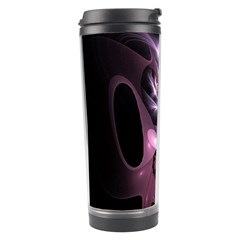 Angry Mantis Fractal In Shades Of Purple Travel Tumbler
