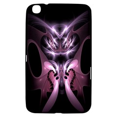 Angry Mantis Fractal In Shades Of Purple Samsung Galaxy Tab 3 (8 ) T3100 Hardshell Case