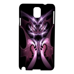 Angry Mantis Fractal In Shades Of Purple Samsung Galaxy Note 3 N9005 Hardshell Case