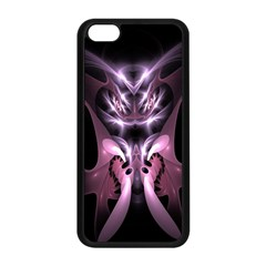 Angry Mantis Fractal In Shades Of Purple Apple iPhone 5C Seamless Case (Black)