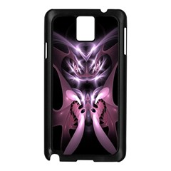 Angry Mantis Fractal In Shades Of Purple Samsung Galaxy Note 3 N9005 Case (Black)