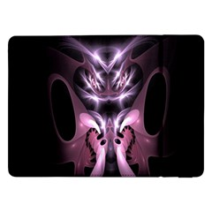 Angry Mantis Fractal In Shades Of Purple Samsung Galaxy Tab Pro 12.2  Flip Case