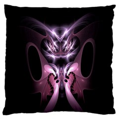 Angry Mantis Fractal In Shades Of Purple Standard Flano Cushion Case (one Side)