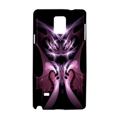 Angry Mantis Fractal In Shades Of Purple Samsung Galaxy Note 4 Hardshell Case