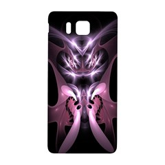 Angry Mantis Fractal In Shades Of Purple Samsung Galaxy Alpha Hardshell Back Case