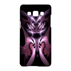 Angry Mantis Fractal In Shades Of Purple Samsung Galaxy A5 Hardshell Case