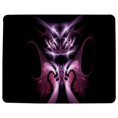 Angry Mantis Fractal In Shades Of Purple Jigsaw Puzzle Photo Stand (rectangular)