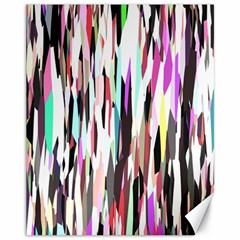 Randomized Colors Background Wallpaper Canvas 11  x 14