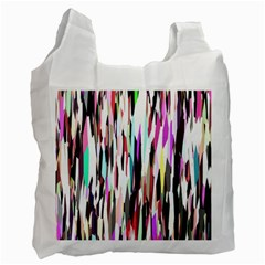 Randomized Colors Background Wallpaper Recycle Bag (One Side)