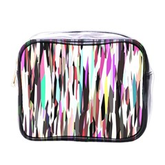 Randomized Colors Background Wallpaper Mini Toiletries Bags