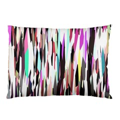 Randomized Colors Background Wallpaper Pillow Case (Two Sides)