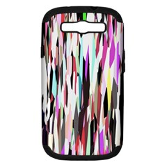 Randomized Colors Background Wallpaper Samsung Galaxy S Iii Hardshell Case (pc+silicone)