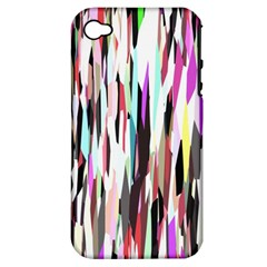 Randomized Colors Background Wallpaper Apple Iphone 4/4s Hardshell Case (pc+silicone)