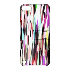 Randomized Colors Background Wallpaper Apple Ipod Touch 5 Hardshell Case With Stand
